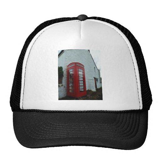 Phonebox Book Exchange Mesh Hat