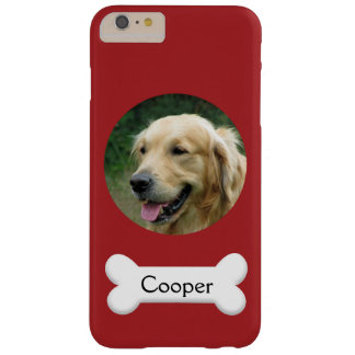 PhoneCase - Custom pet (dog) photo and name Barely There iPhone 6 Plus Case