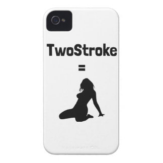 Phonecase (TwoStroke=Woman) iPhone 4 Covers