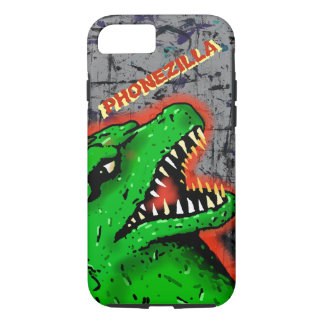 PHONEZILLA SCIFI  MONSTER by Jetpackcorps iPhone 8/7 Case