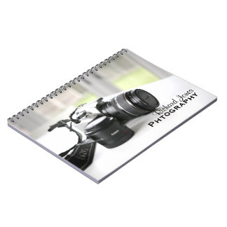 Photagraphy Photographer Camera Lens Notebooks