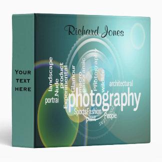 Photagraphy Typography Bokeh Photographer Binders