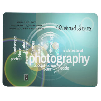 Photagraphy Typography Bokeh Photographer Journal
