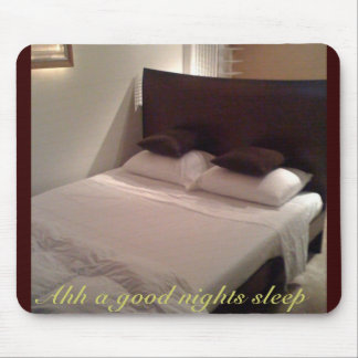 photo(11), Ahh a good nights sleep Mouse Pad