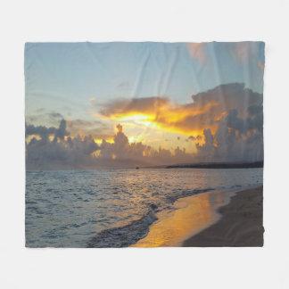 Photo 17 ocean sunset fleece blanket