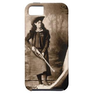 Photo 1898 de Mlle Annie Oakley Holding un fusil Coques Case-Mate iPhone 5