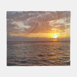 Photo 18 ocean sunset fleece blanket