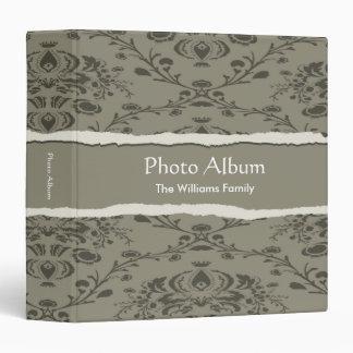 Photo Album Elegant Torn Pattern Vinyl Binder