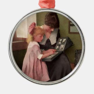 Photo Album Moment. Early 1900's. Christmas Tree Ornament