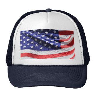 Photo américaine de drapeau des USA de bannière ét Casquette De Camionneur
