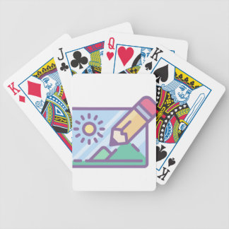 Photo and Video Bicycle Playing Cards