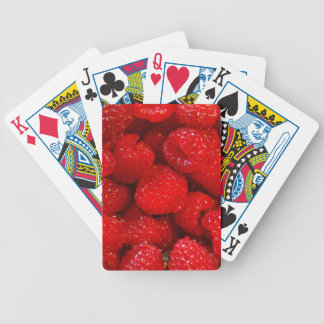 Photo Art Raspberries Bicycle Playing Cards