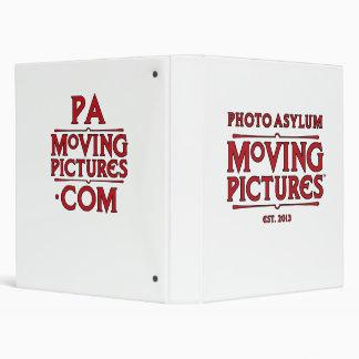 "Photo Asylum Moving Pictures 1"" Binder"