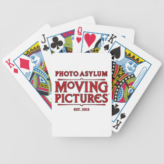 Photo Asylum Moving Pictures Playing Cards