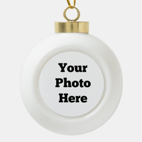 Photo Ball Ornament