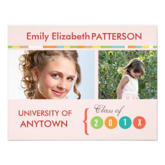 Photo Banner Graduation Personalized Invite