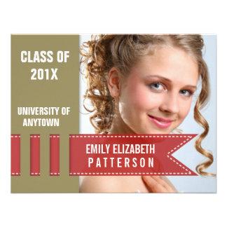 Photo Banner Graduation Invite