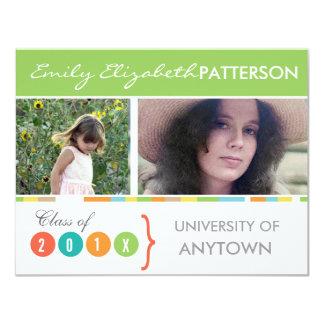Photo Banner Graduation Invites