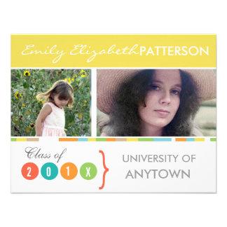 Photo Banner Graduation Personalized Announcements
