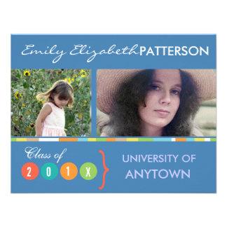 Photo Banner Graduation Personalized Invitations