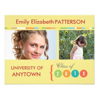 Photo Banner Graduation Invitation