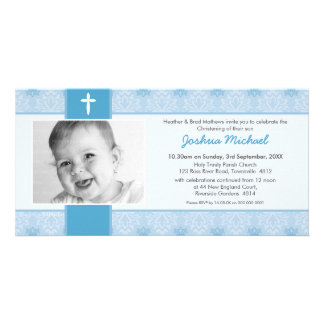 PHOTO BAPTISM INVITATIONS :: pretty 1L