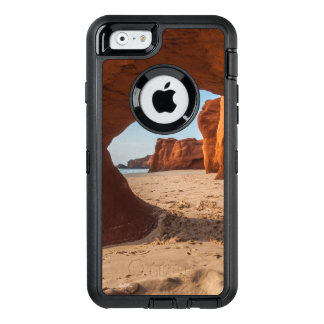 photo beach and courses OtterBox defender iPhone case