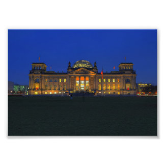 Photo Berlin Reichstag in the evening