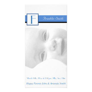 Photo Birth Announcement Card
