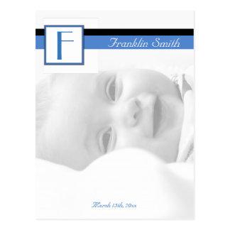 Photo Birth Announcement Postcard