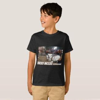 Photo Bomb Horse Kids Shirt Black Funny