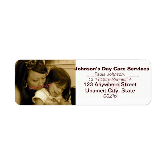 Photo Business Return Address Labels