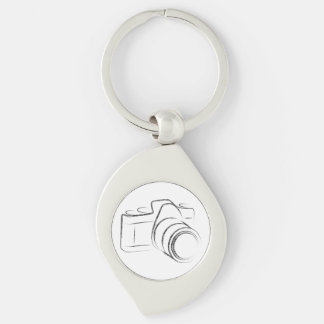 Photo Camera Keychain