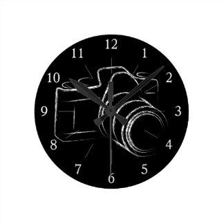 Photo Camera Wallclocks