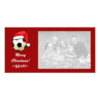 Photo Card - Christmas Soccerball