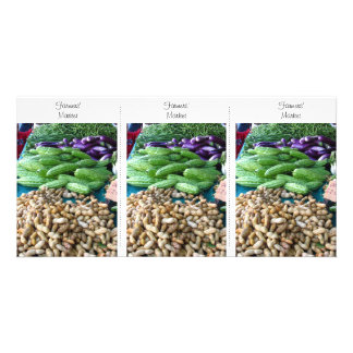 Photo Card – Farmers' Market Bookmark