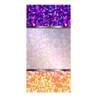 Photo Card Glitter Graphic