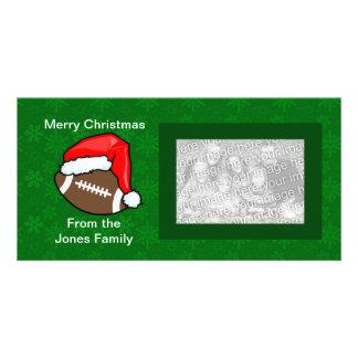 Photo Card - Santa Football