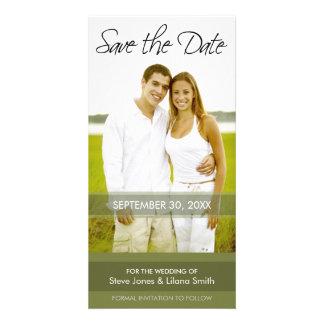 Photo Card: Save the Date - Minimalistic Photo Card