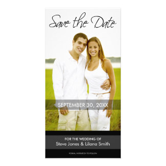 Photo Card: Save the Date - Minimalistic Photo Card Template
