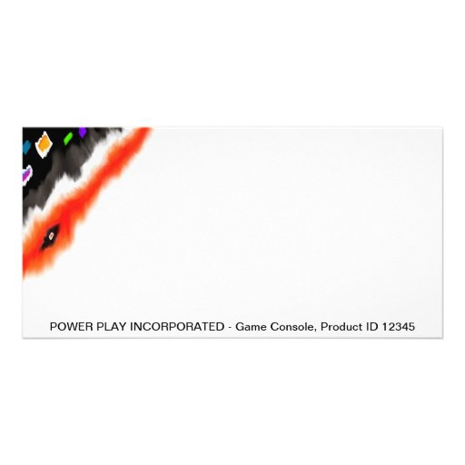 Photo Card Template - Power Play