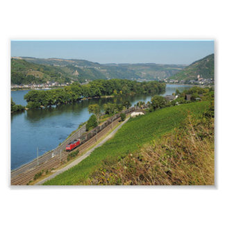 Photo central Rhine Valley with Lorch