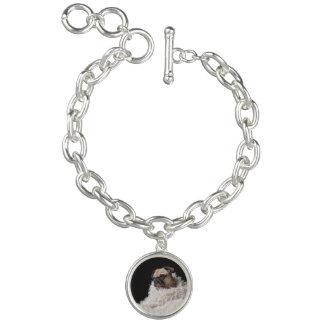 Photo charm bracelet   Silver
