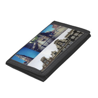 Photo collage Amsterdam 2 Trifold Wallets