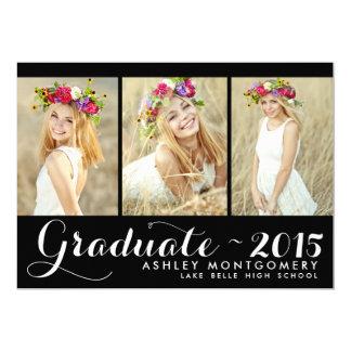Photo Collage |Class of 2015 Graduation Invitation