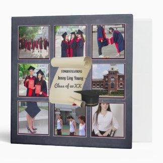 Photo Collage Graduation Keepsake Instagram Named Binder
