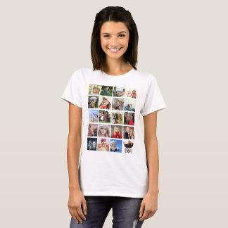 PHOTO Collage Instagram Tshirt CLASS TEAM FRIENDS