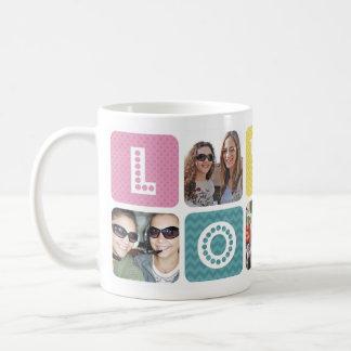 Photo Collage Multicolor Coffee Mug