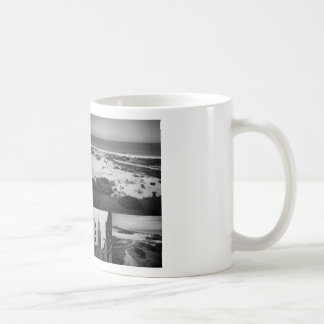 Photo collage of The Hague 2 in black and white Coffee Mug