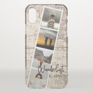Photo Collage of Travel Memories. Wanderlust. iPhone X Case
